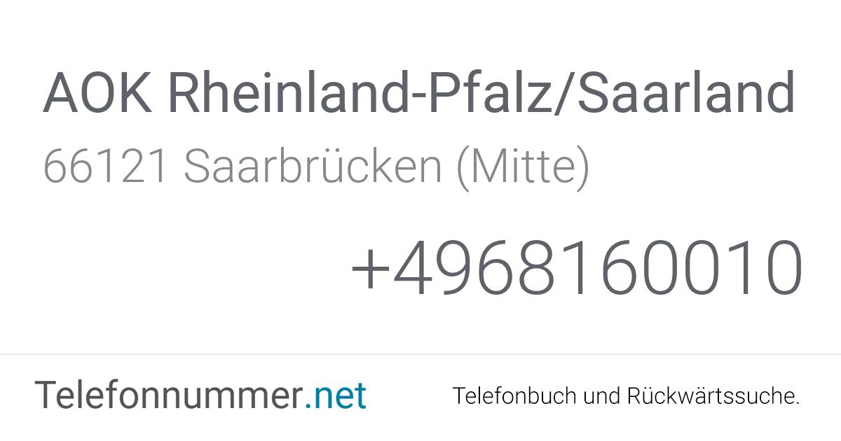 Aok Rheinland Telefon
