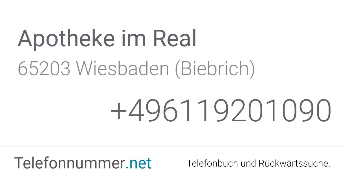 Telefonbuch Wiesbaden Rückwärtssuche