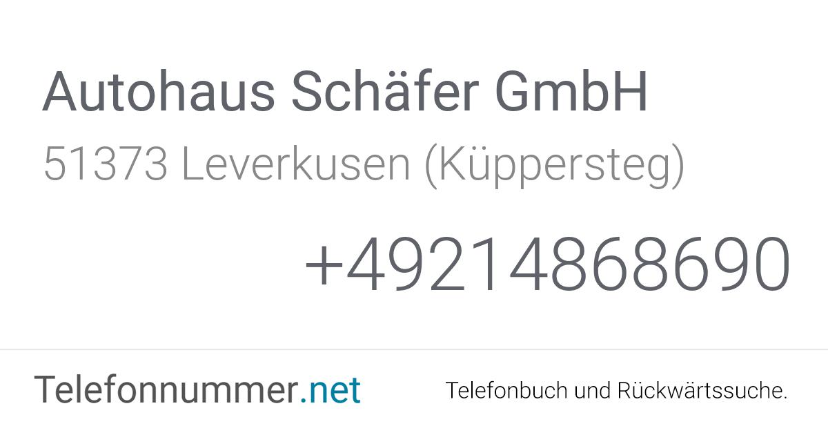 Autohaus Schäfer Gmbh Leverkusen