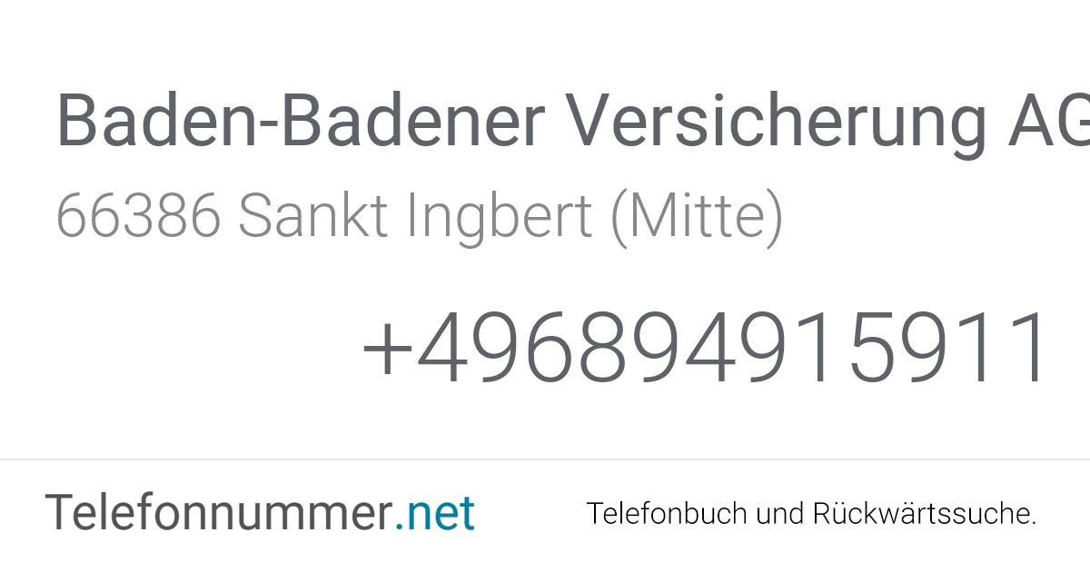 Baden Badener Versicherung