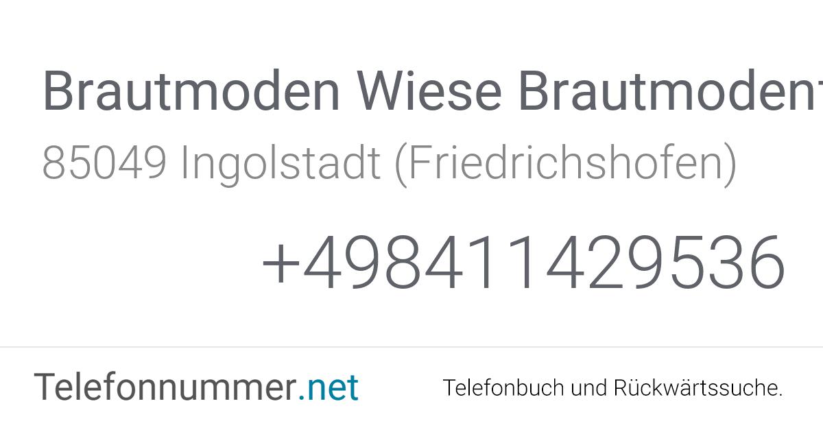 Brautmoden Wiese Brautmodenfachgeschäft Ingolstadt
