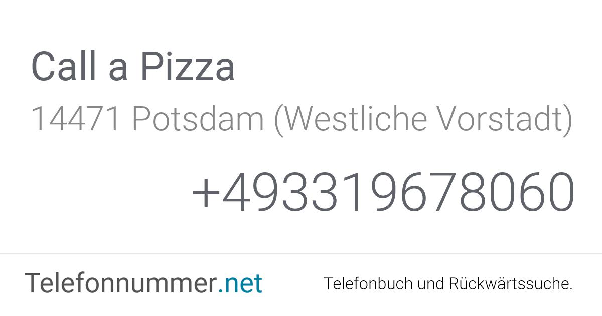 Call A Pizza Potsdam West