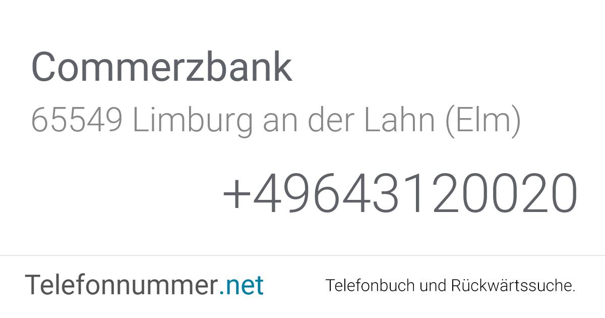 Commerzbank Limburg öffnungszeiten