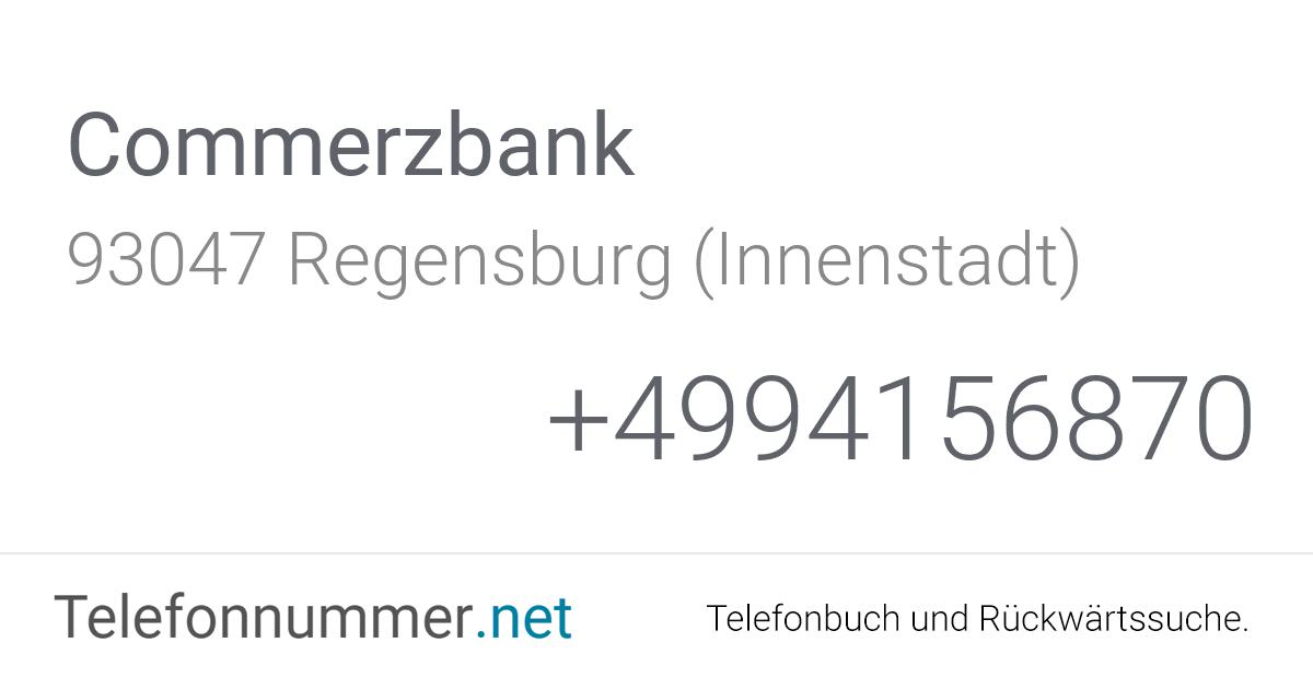 Commerzbank Regensburg