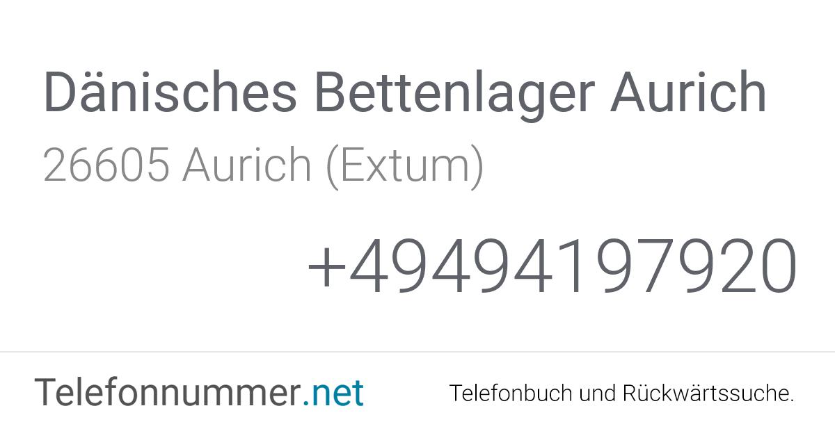 Dänisches Bettenlager Aurich Aurich (Extum), Dreekamp 14 ...