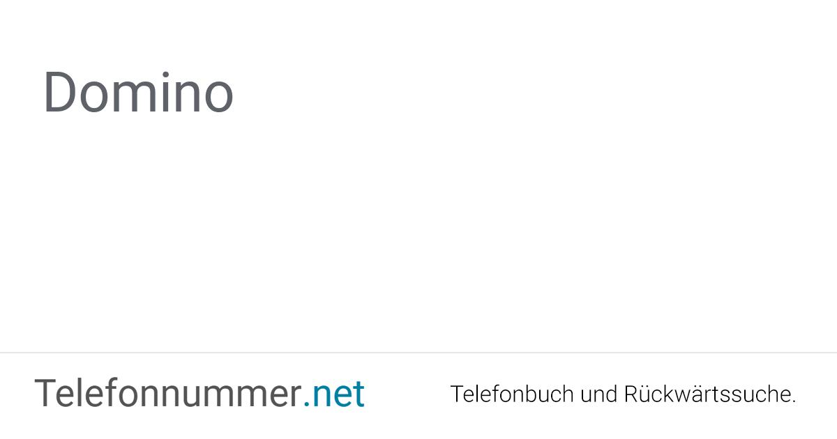 Dominos Telefonnummer