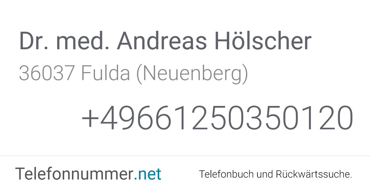 Dr. Hölscher Fulda
