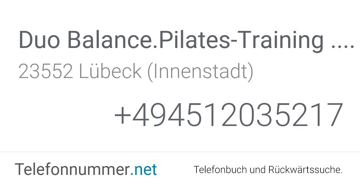 Duo Balance Lübeck