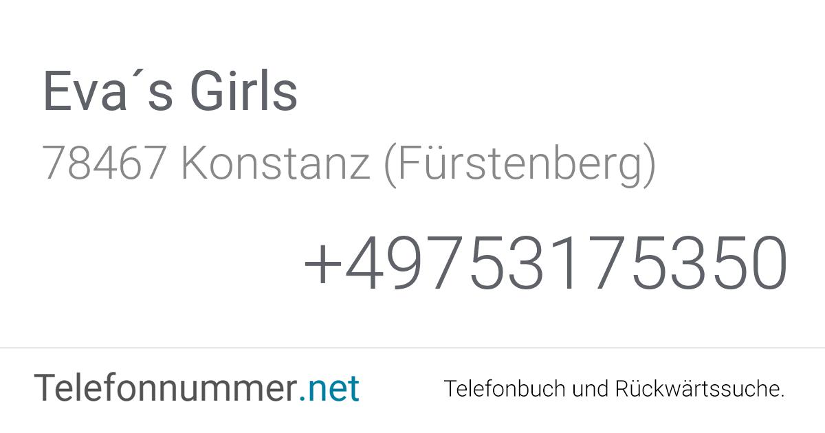 Eva´s Girls Konstanz (Fürstenberg), Fürstenbergstraße 60