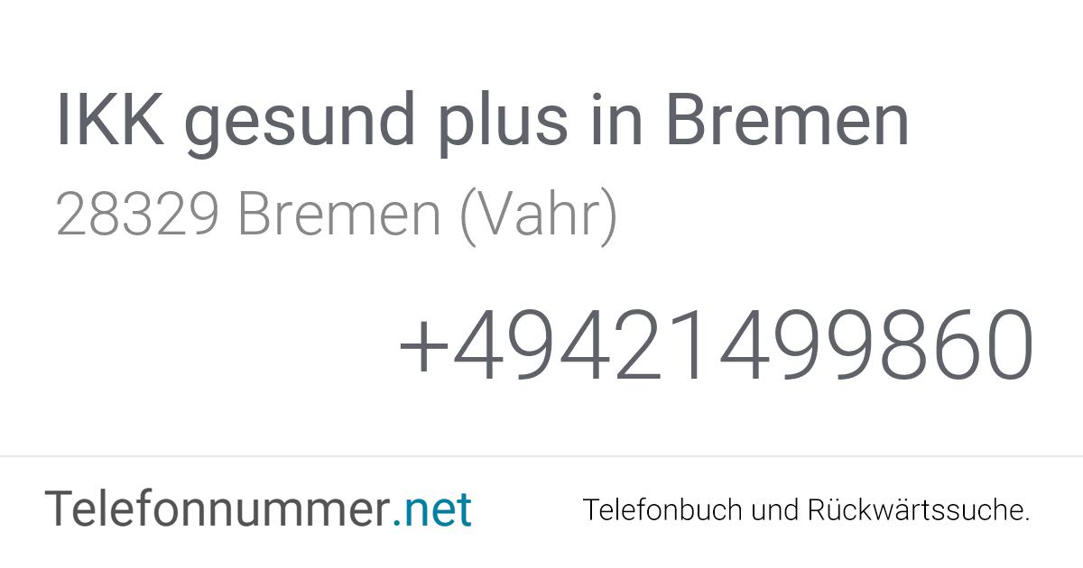 Ikk Gesund Plus Bremen