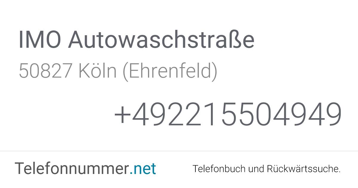 Waschstraße Köln Ehrenfeld