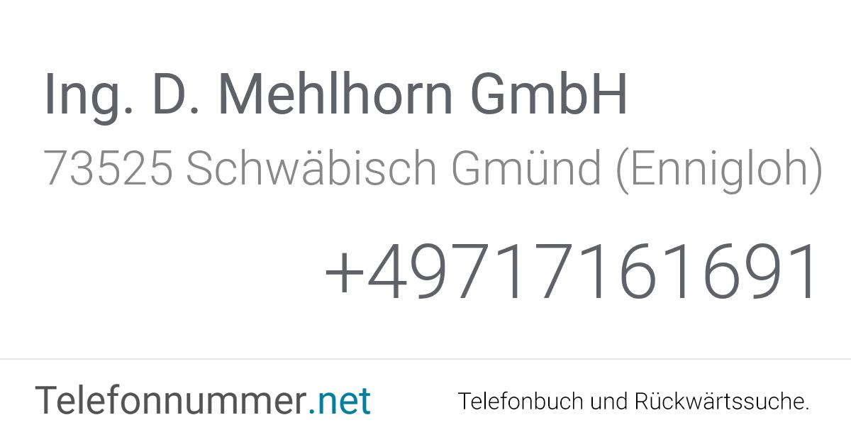 Mehlhorn Gmünd