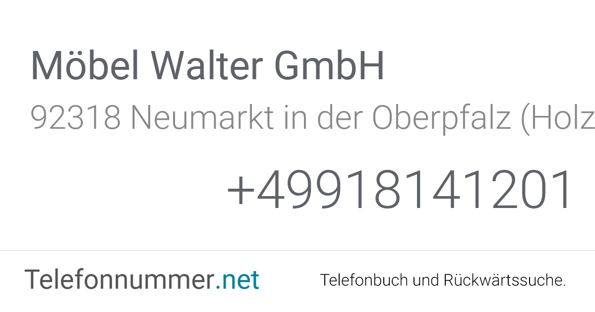 Möbel Walter Neumarkt