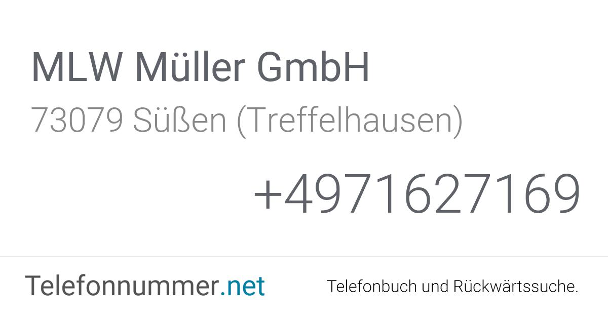 MLW Müller GmbH Süßen (Treffelhausen), Schlater Straße 17