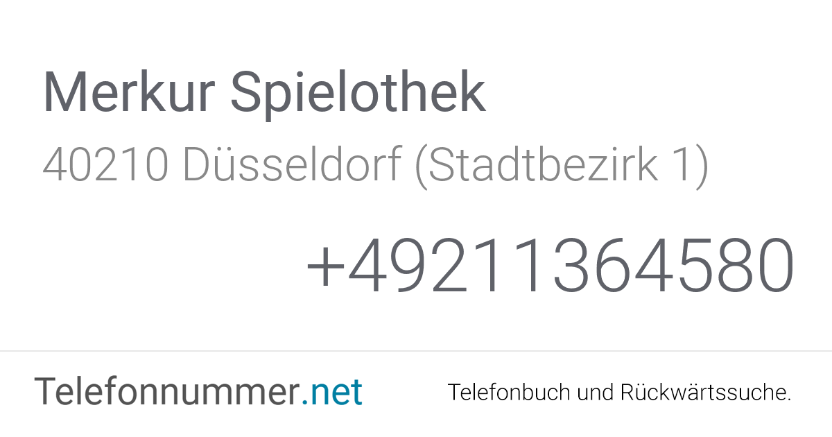 Spielothek Düsseldorf