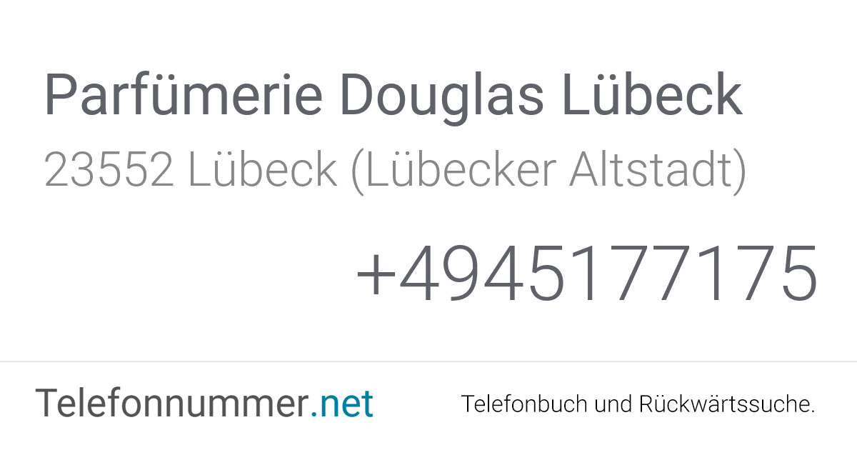 Douglas Lübeck