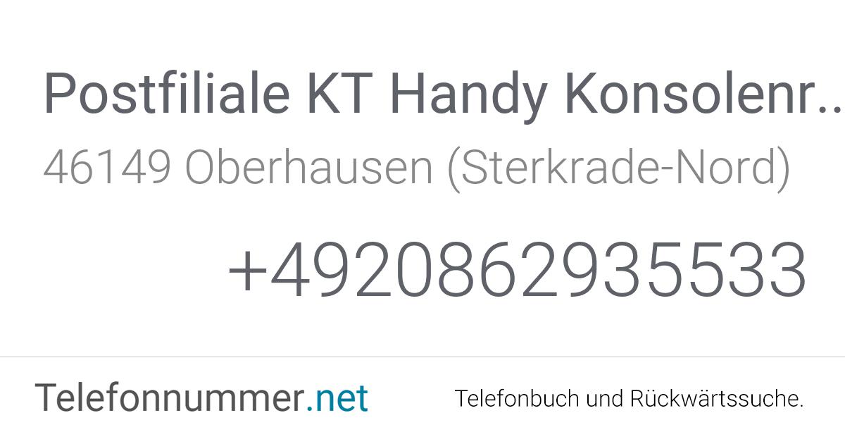 Postcon Telefonnummer
