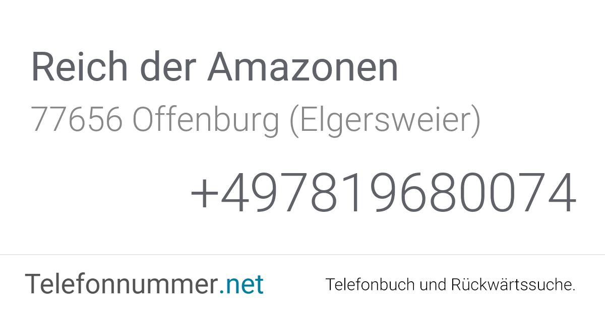 Reich der Amazonen Offenburg (Elgersweier), Hauptstraße