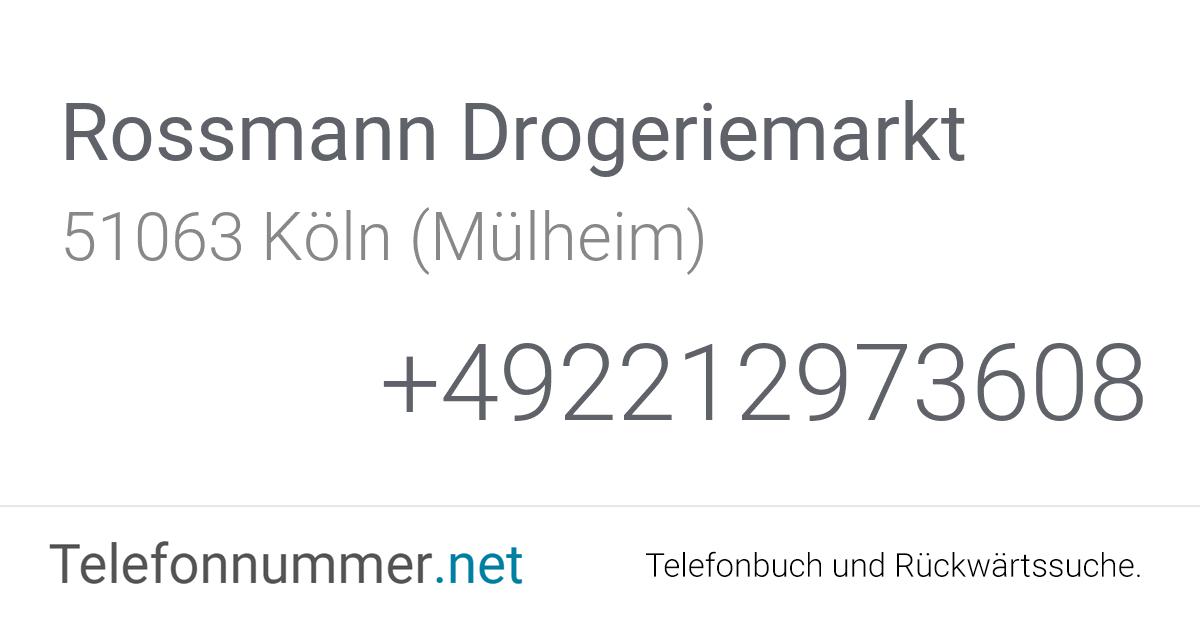 Rossmann Köln Mülheim