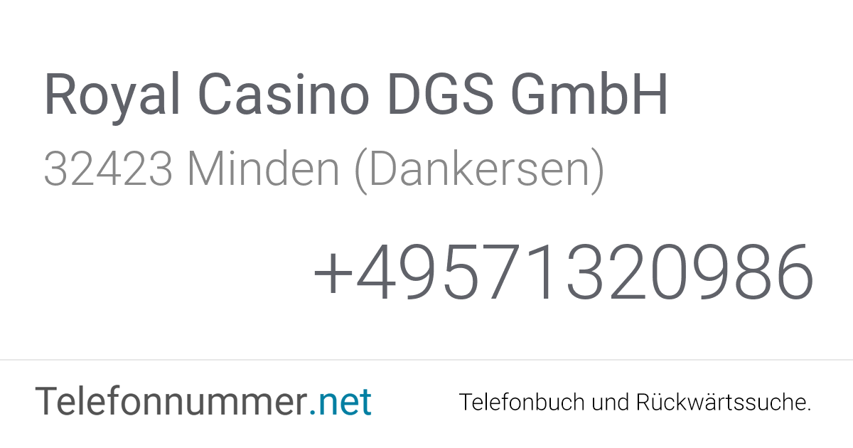 Royal Casino Dgs Gmbh
