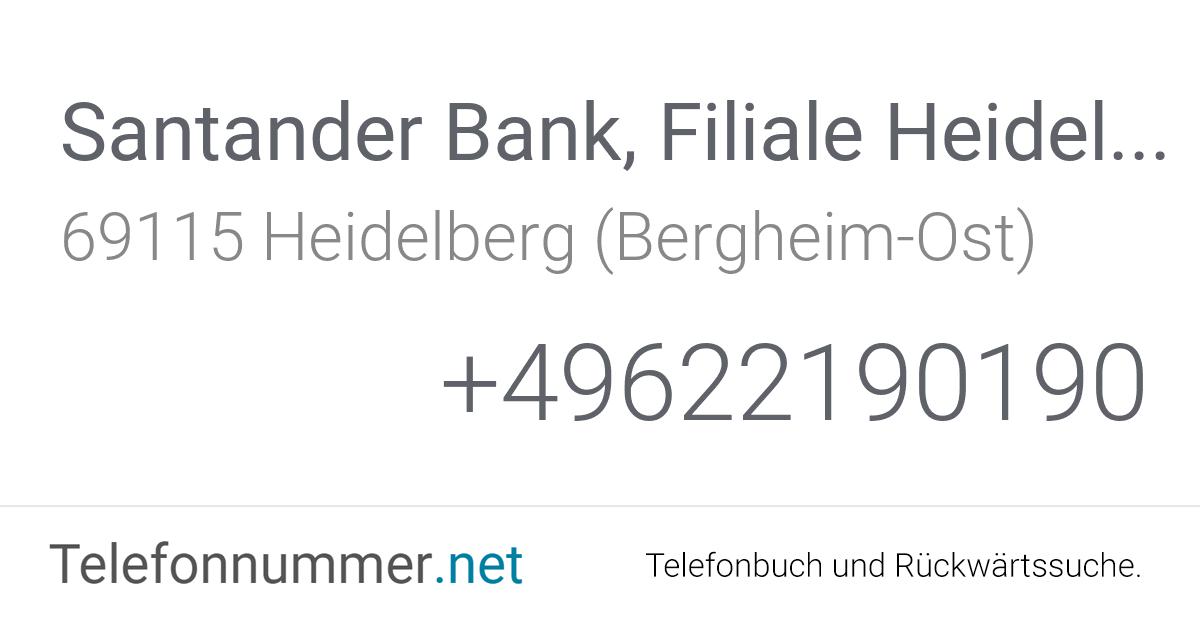 Santander Bank Karte Sperren