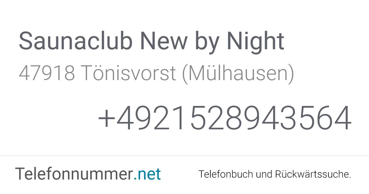Saunaclub New by Night Tönisvorst (Mülhausen