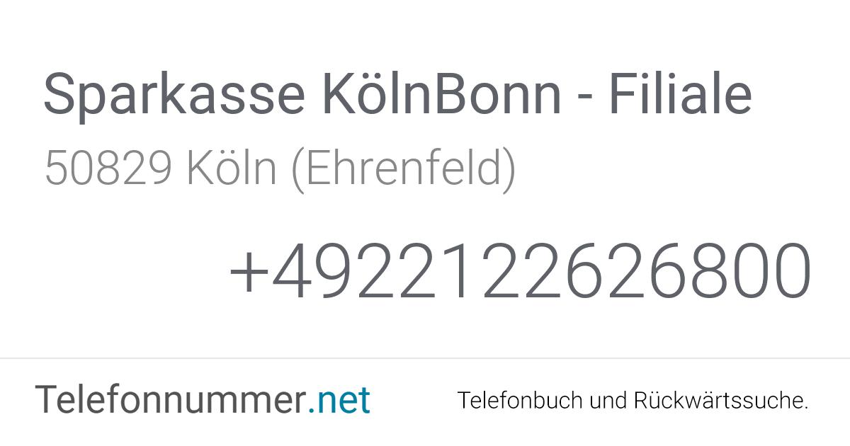 Sparkasse Köln Bonn Ehrenfeld