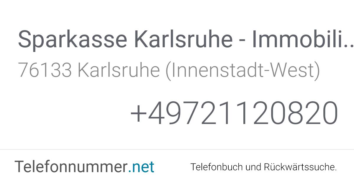 Immobilien Karlsruhe Sparkasse