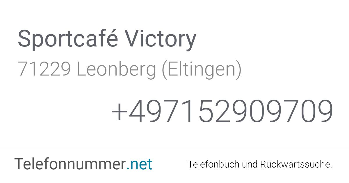 Sportcafé Victory Leonberg (Eltingen), Steinbeisstraße 3