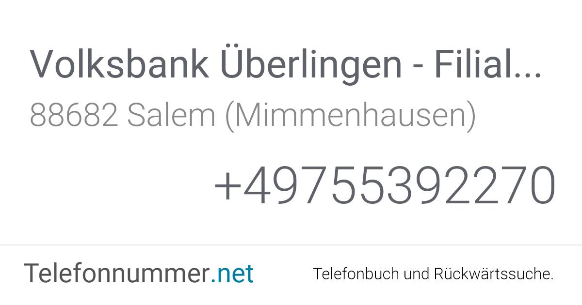 Volksbank Mimmenhausen