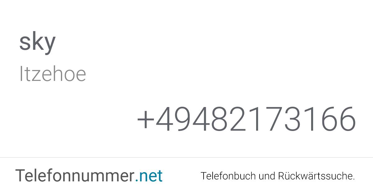 Telefonnummer Sky