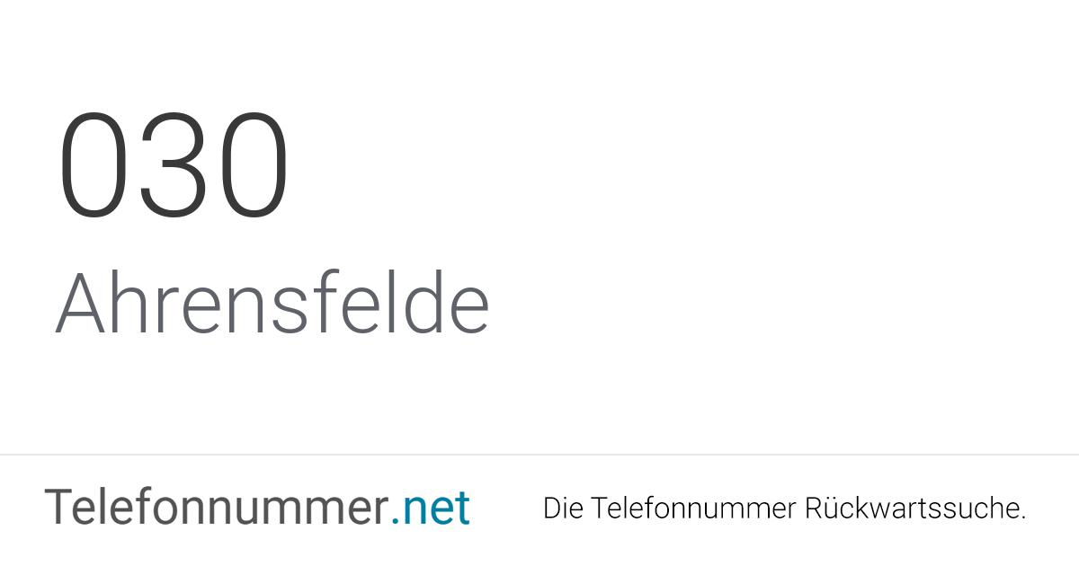Telefonvorwahl Berlin